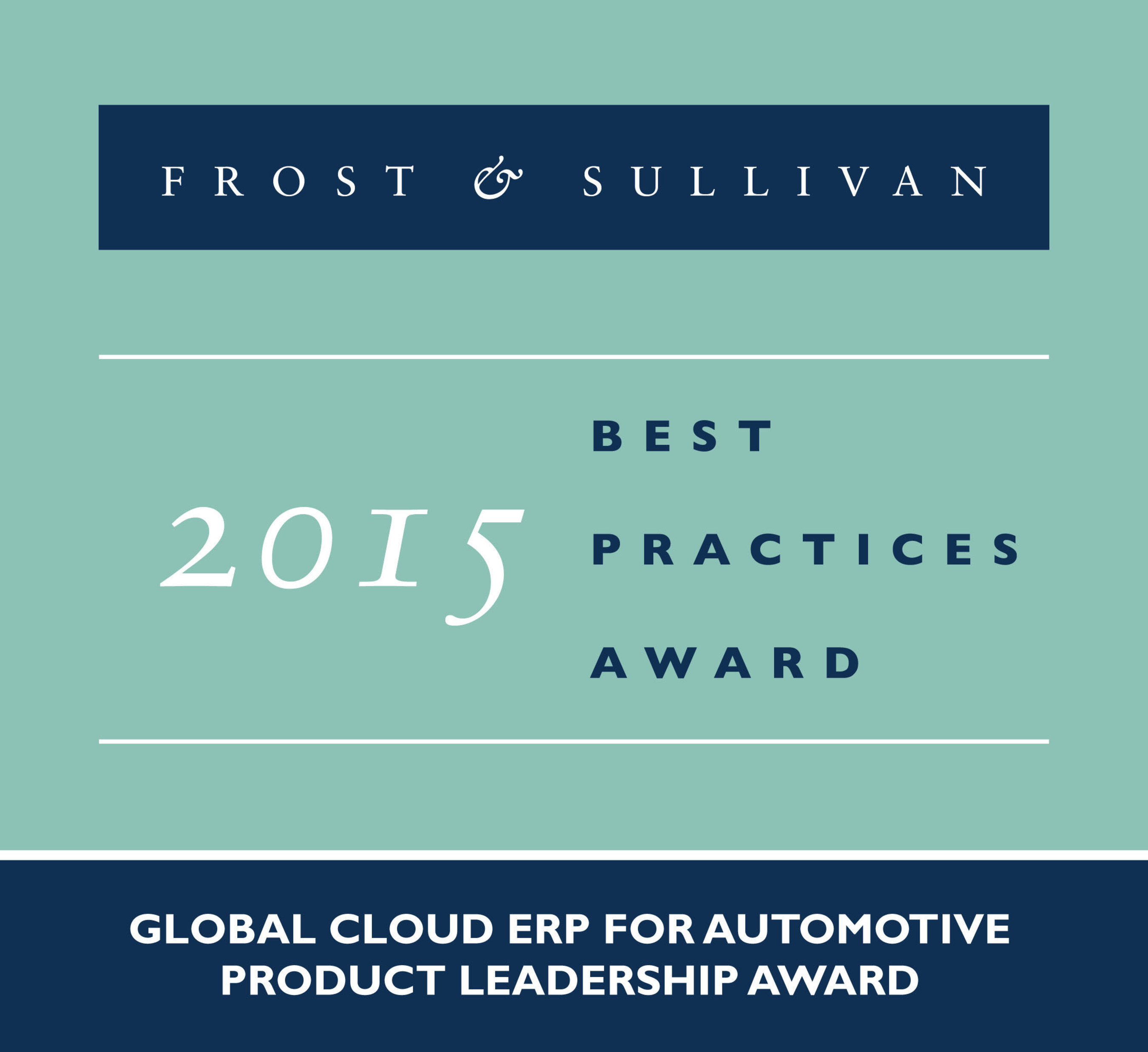 Frost & Sullivan Awards QAD for Addressing the Compliance and Technology Requirements of the
