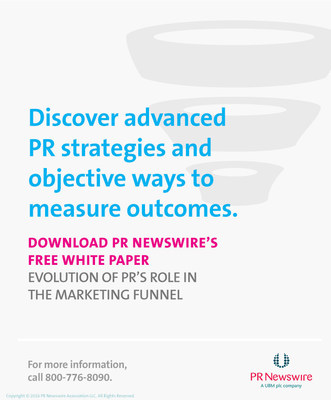 For detailed insight into how PR now fits into the marketing funnel, download PR Newswire's free white paper, Evolution of PR's Role in the Marketing Funnel.