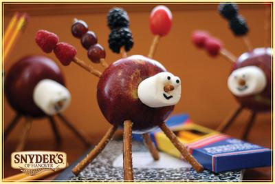 Snyder's of Hanover Apple Critter.  (PRNewsFoto/Snyder's of Hanover)