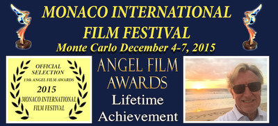 L.A. TV NEWS PIONEER HONORED IN MONTE CARLO
