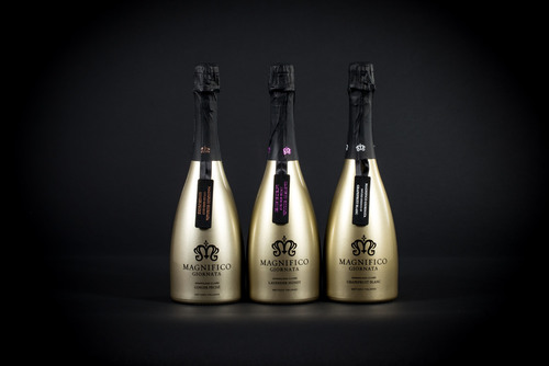 Magnifico's Infused Essence Collection features all-natural essences sourced exclusively from France to create three distinct profiles: Ginger Peche, Grapefruit Blanc and Lavender Honey. (PRNewsFoto/Diamond Brands Inc.) (PRNewsFoto/DIAMOND BRANDS INC.)