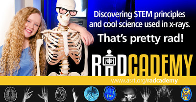 Radcademy(TM) is a free resource for kids and science teachers that helps students discover the cool science of medical imaging and radiation therapy.