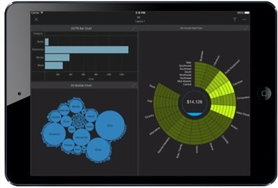 MicroStrategy 10.1: D3 Visualizations on MicroStrategy Mobile