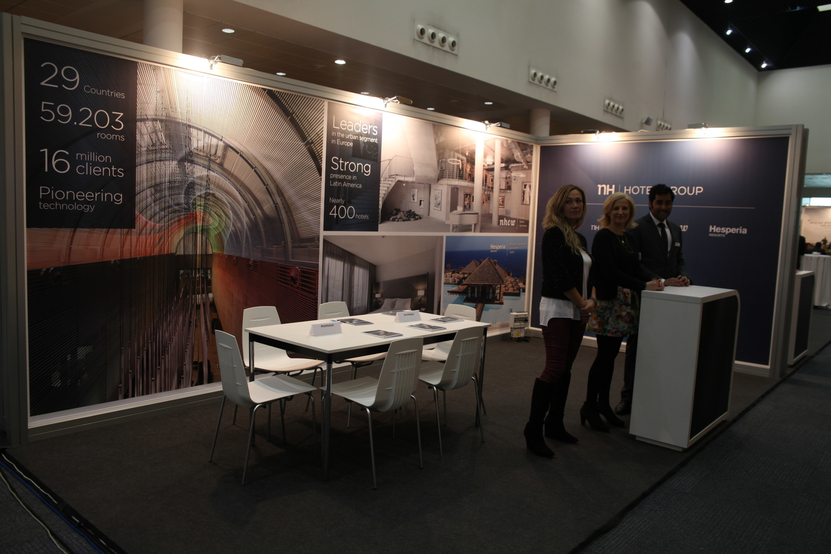 NH Hotel Group, a subsidiary of HNA Group and the third largest hotel group in Europe, takes part in the exhibition