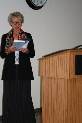 Lin Wilder at TMC Reading for her book