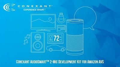 Conexant AudioSmart Two Microphone Development Kit for Alexa Voice Service