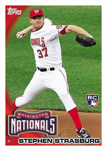 Topps Celebrates Stephen Strasburg's MLB Debut With the Immediate Release of His Official Topps