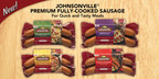 Johnsonville Sausage Introduces Premium Fully Cooked Sausage in Four Varieties!  Visit www.johnsonville.com for quick and tasty meal ideas!  (PRNewsFoto/Johnsonville Sausage, LLC)