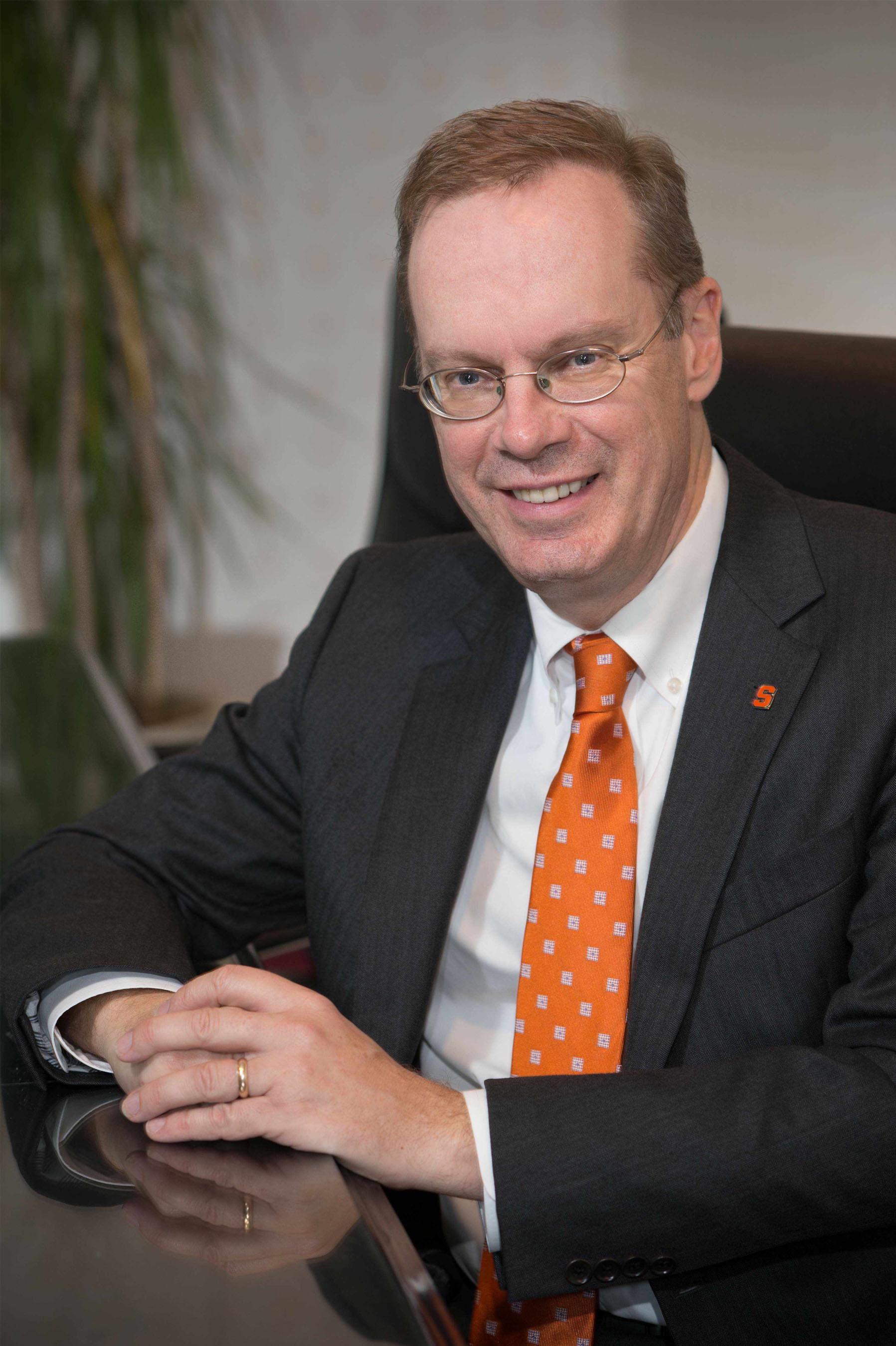 Syracuse University Chancellor-designate Kent D. Syverud. (PRNewsFoto/Syracuse University) (PRNewsFoto/SYRACUSE UNIVERSITY)