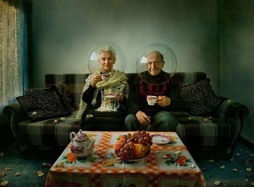 "The winning photo, ""Elegy of Autumn"" taken by Dina Bova (Israel)"