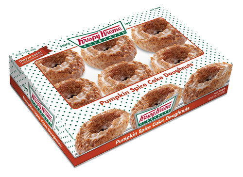 Just in time for fall, Krispy Kreme has infused its signature packaged treats with the traditional taste of the  ...