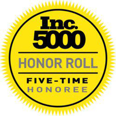 "Insight Sourcing Group Earns the Position of #1998 As a Five-Time Honoree on the 2012 Inc. Magazine 5000 ""America's Fastest Growing Private Companies.""  (PRNewsFoto/Insight Sourcing Group, Inc.)"