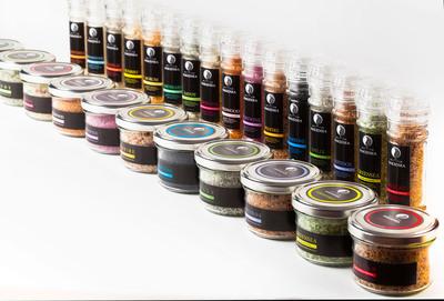 Naked Sea Salt products. (PRNewsFoto/Naked Sea Salt) (PRNewsFoto/NAKED SEA SALT)