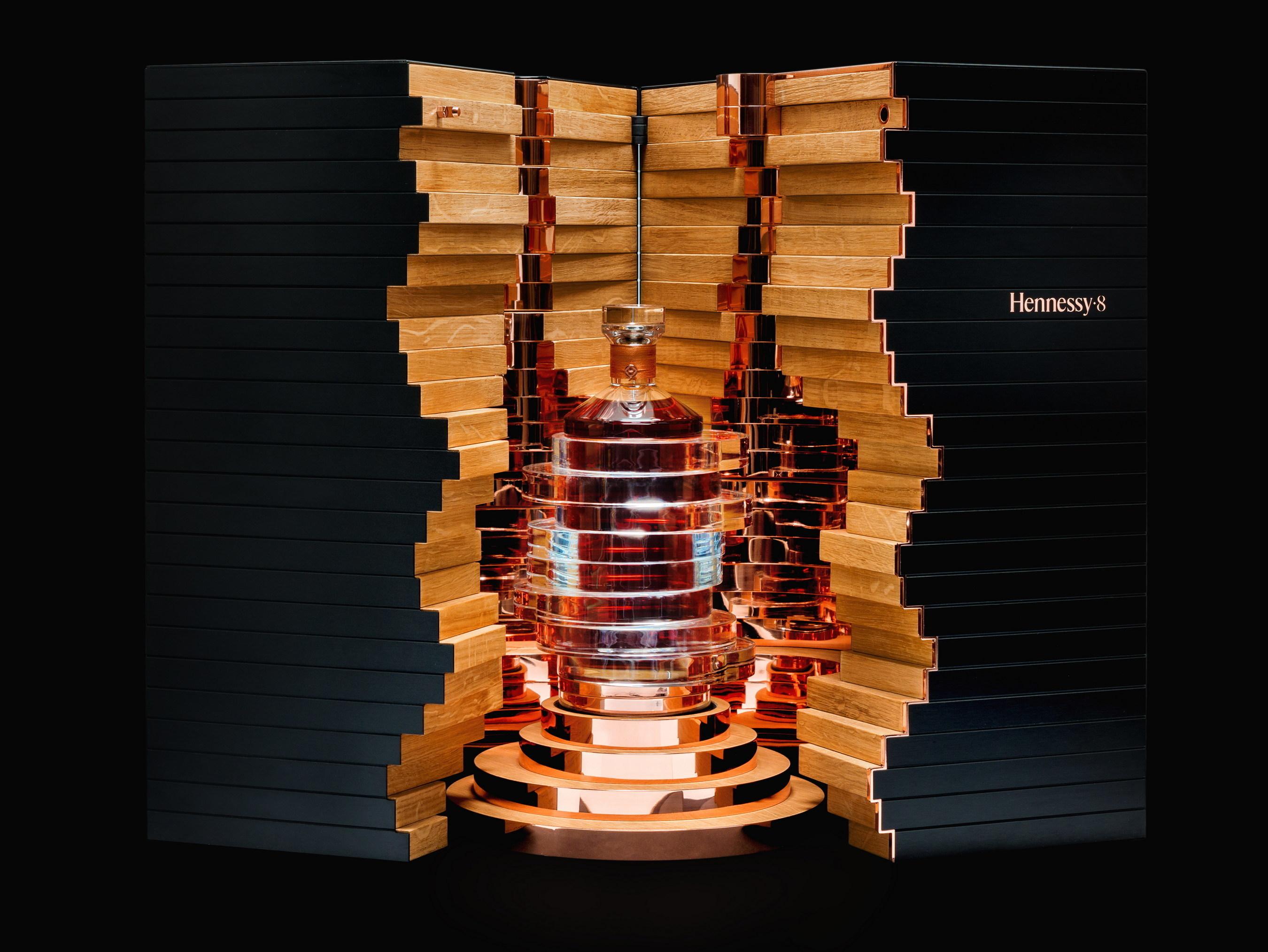 Hennessy·8, designed by artist Arik Levy