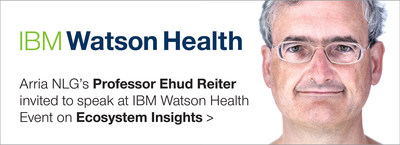 Professor Ehud Reiter will be discussing ways in which NLG Artificial Intelligence can impact the healthcare Ecosystem.