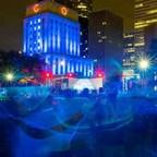 Houston's City Hall lights blue in September for Prostate Cancer Awareness Month