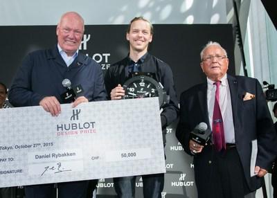 And the winner is Daniel Rybakken (PRNewsFoto/HUBLOT) (PRNewsFoto/HUBLOT)