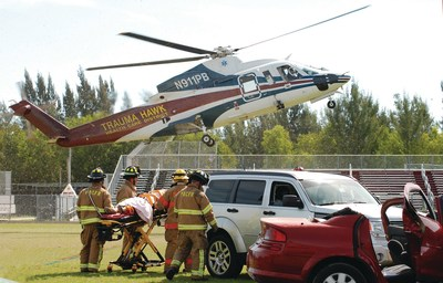 Over the last 25 years, Palm Beach County's nationally-recognized Trauma System, overseen and funded by the Health Care District of Palm Beach County, has treated more than 64,000 people, providing rapid-response care for more than 3,700 traumatically-injured patients each year.