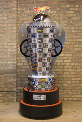 The Hot Wheels Indy 500 Championship Trophy celebrates the 100th Indy 500 champions, their stories and racing history with 99 Hot Wheels die cast cars