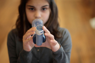 The Asthmapolis mobile health solution is designed to improve the care of people with asthma, advance understanding of symptoms and triggers and help them achieve control of the disease.  (PRNewsFoto/Asthmapolis)