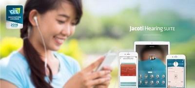 Jacoti to Present Award-Winning Hearing Technologies at HLAA/IFOH '16 and Simons Foundation (PRNewsFoto/Jacoti bvba)
