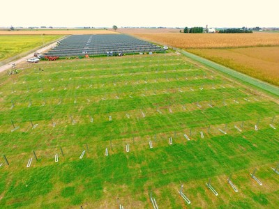 Site of the new array in Kalona, IA