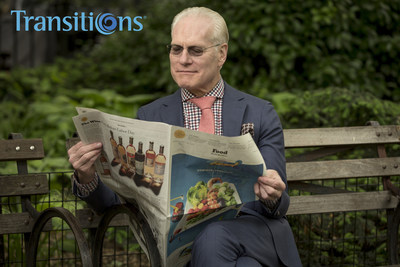 Fashion icon Tim Gunn is seeing life through a new lens, literally. He has fitted his trademark eyeglasses with Transitions lenses, which darken just the right amount when exposed to sunlight outdoors. Gunn said the upgrade has surpassed his expectations by far.