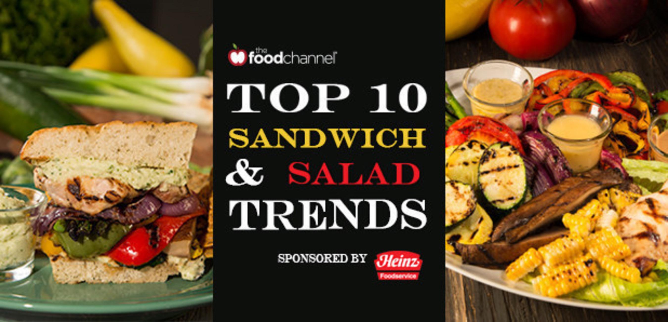 FoodChannel.com Top 10 Sandwich & Salad Trends