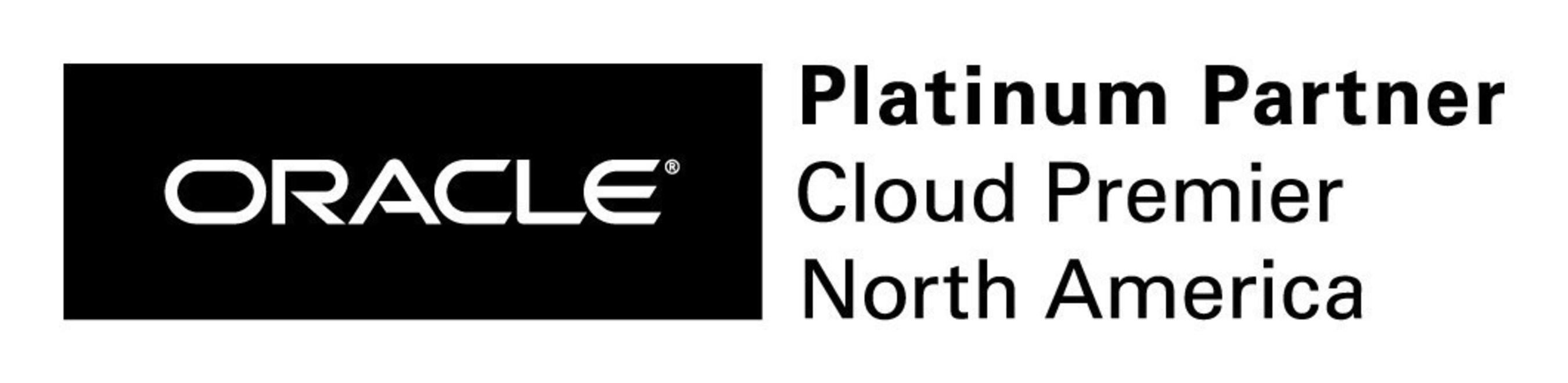 Oracle Platinum Cloud Premier Logo