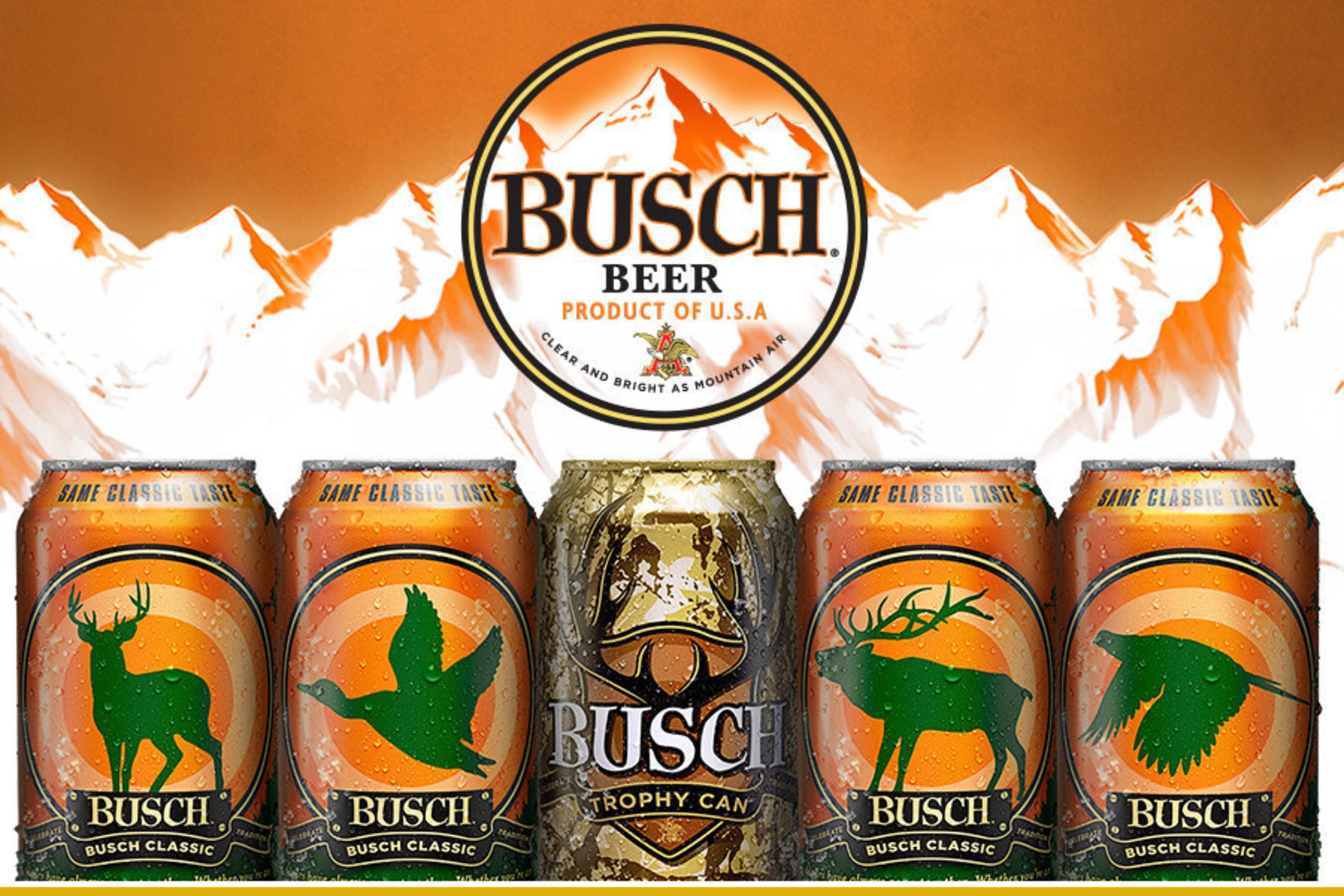 Busch Hunting Meets Racing Beer Brand Brings Back Hunting