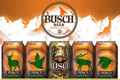 Available now and running through December 1, 2016, Busch and Busch Light packaging will feature familiar blaze orange packaging, ever so fitting with the hunting season. A total of 100,000 gold trophy cans will be randomly seeded in 18-, 24- and 30-packs of 12 oz. Busch and Busch Light cans. Those who find a trophy can will have the chance to win the grand prize hunting trip of a lifetime as well as weekly hunting-themed prizes.