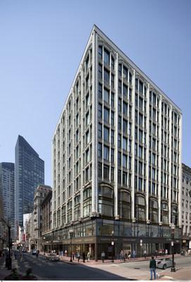 Rendering of The Godfrey Hotel Boston