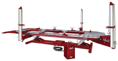 Chief Automotive Technologies is offering several promotions during the fall trade show season, including free pulling towers for buyers of the impulse(R)-E/VHT, Goliath(R) and Titan(R)-360 frame racks. Additionally, each EZ Liner(TM) Express buyer receives a free tower extension.Chief frame racks are compatible with all Chief measuring systems. Annual specification subscriptions are regularly priced at $998, but anyone purchasing a Velocity(TM) or VelocityMAX measuring system during the show season receives a full year of specifications for just $1.Customers can see the equipment in action at the SEMA Show, Nov. 5-8, in booth 10339. (PRNewsFoto/Chief Automotive Technologies) (PRNewsFoto/CHIEF AUTOMOTIVE TECHNOLOGIES)