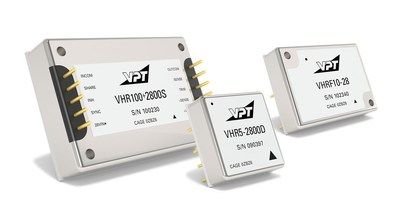 VPT's VHR Series of Industrial Level Power Supply Products
