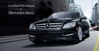 Mercedes-Benz Certified Pre-Owned vehicles provide the benefits of a new car for an affordable price. (PRNewsFoto/Mercedes-Benz of North Haven)