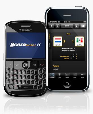 #1 Sports App, ScoreMobile, Strikes Again With ScoreMobile FC. (PRNewsFoto/Score Media Inc.)