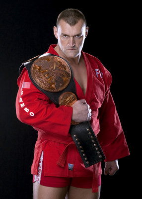"Oleg Prudius, AKA WWE Superstar ""Vladimir Koslov,"" to co-produce 3-D mixed martial arts series for 3doo's global Video-on-Demand platform. (PRNewsFoto/3doo, Inc.)"