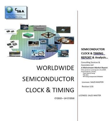 Latest Industry Report Show Semiconductor Timing Revenues Continue to Fall as the Industry Shifts...