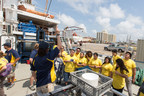 Ocean Exploration Trust conducts ship tours sponsored by CITGO onboard Exploration Vessel Nautilus