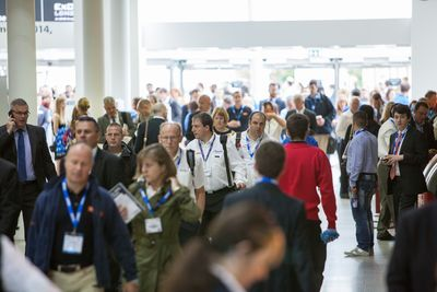 There was a high quality of turnout at the Energy & Environment Expo 2014 in London ExCeL. (PRNewsFoto/UBM Live)