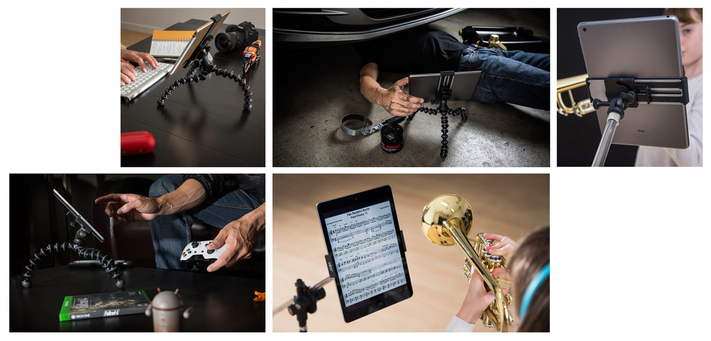 JOBY GripTight Mount PRO for Tablets