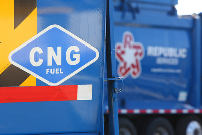 Republic Services CNG Truck