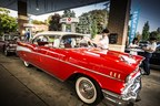 Hagerty Classic Car Magazine provides the full service experience to a 1957 Chevrolet Bel Air to celebrate National Collector Car Appreciation Day. (PRNewsFoto/Hagerty Classic Car Magazine)