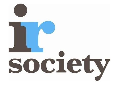 IR Society Logo (PRNewsFoto/PR Newswire Europe)