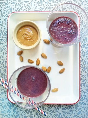Cherry Almond Smoothie by Frances Largeman-Roth, RDN