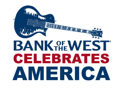 Bank of the West Celebrates America Logo (PRNewsFoto/Bank of the West)
