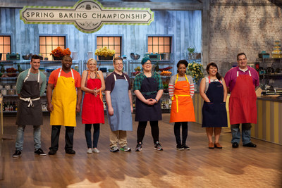 Spring Baking Championship premieres Sunday, April 26th at 9:00pm on Food Network