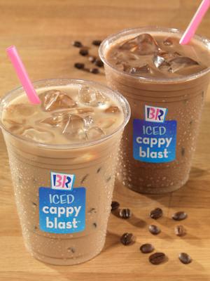 Baskin-Robbins Iced Cappy Blast(TM).  (PRNewsFoto/Baskin-Robbins)