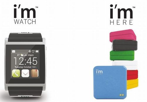 Two Revolutionary Creations by i'm in World Premiere at CES 2013: The New Version of i'm Watch and