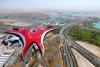Ferrari World Abu Dhabi is a signature attraction on Yas Island, the UAE's latest leisure hub.